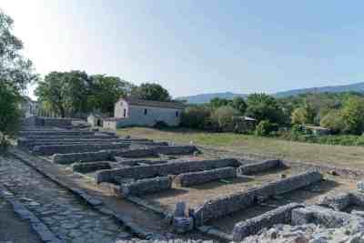 Altilia Saepinum ruins
