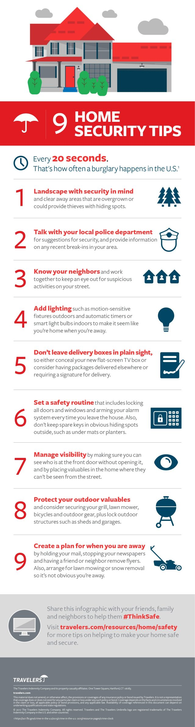 9 home security tips infographic 9 Home Security Tips [Infographic]