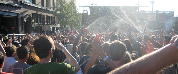 At the Capitol Hill Block Party in Seattle. Photo by Zena C/Flickr.