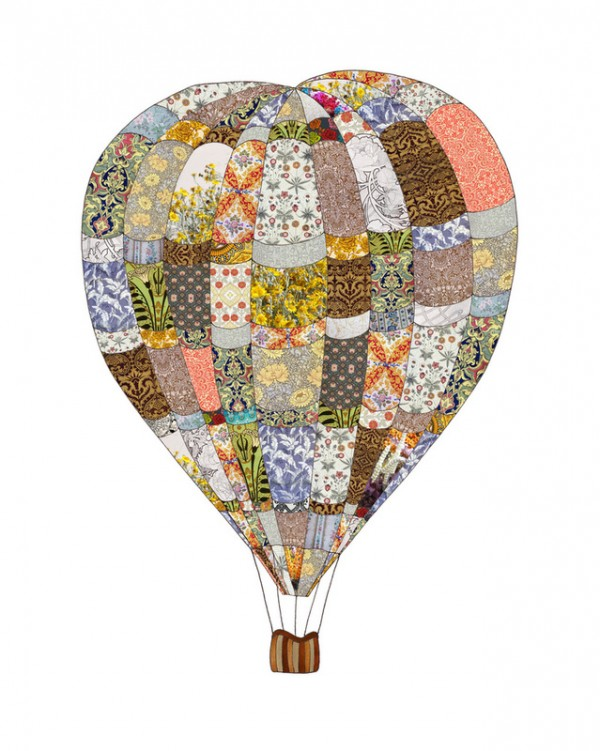 air balloon 600x751 Artist on the Rise   Interviewing Bianca Green