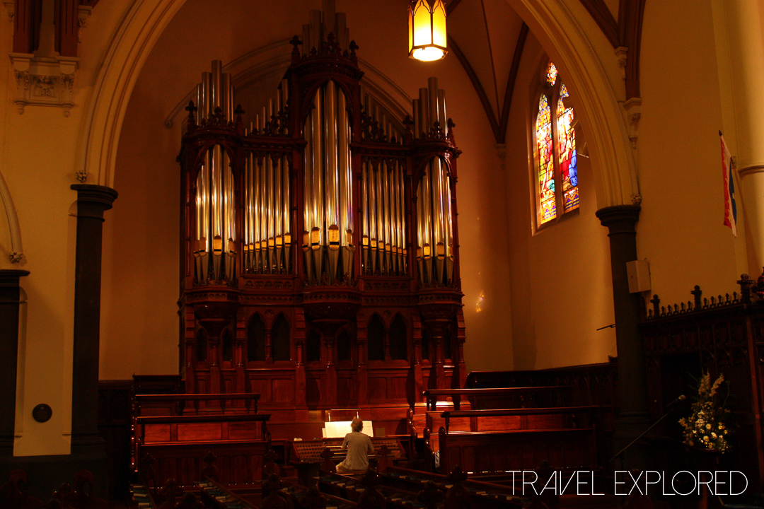 Melbourne - Scots Church Organ Installed in 1999 into a casing from 1874