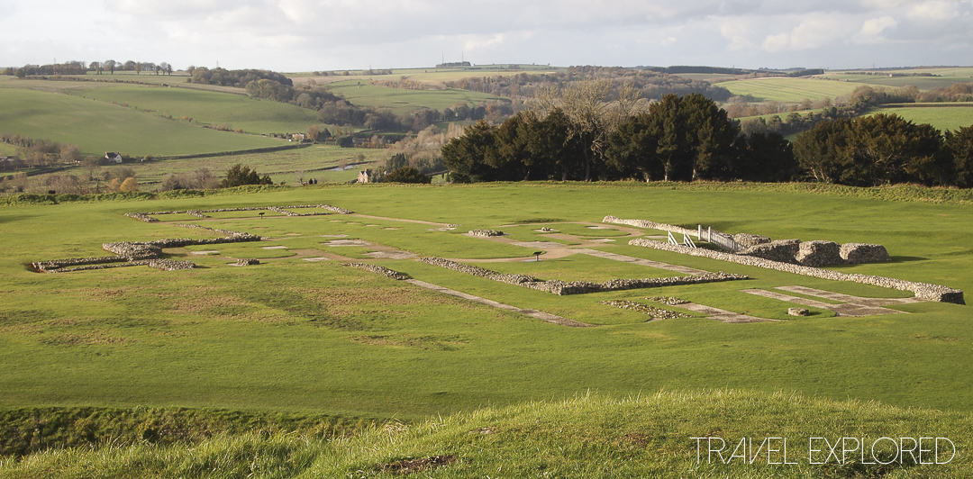 Old Sarum Castle Cathedral