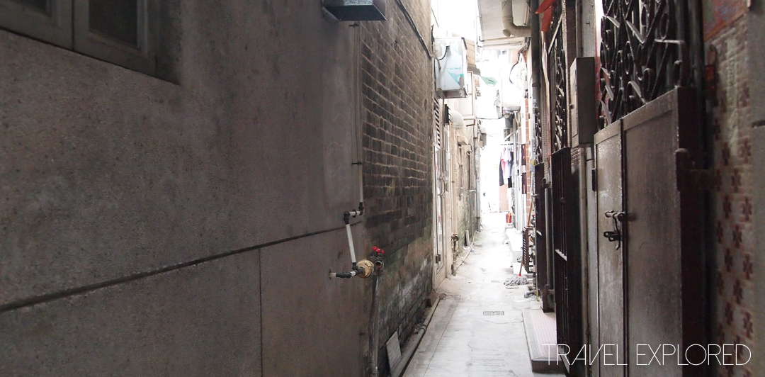 Hong Kong - Fanling Village Alleyway
