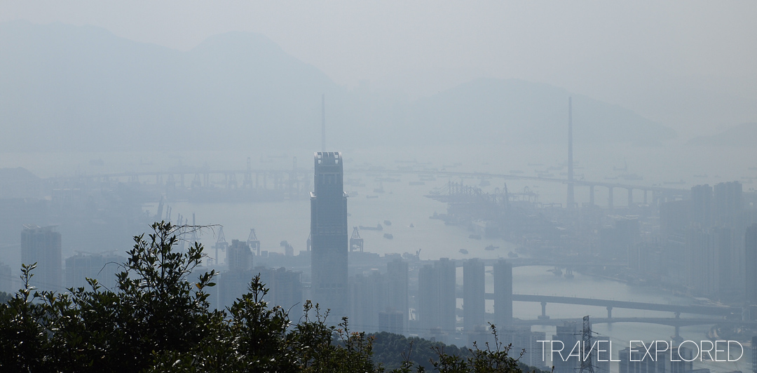 Hong Kong - View of Tsuen Wan from Tai Mo Shan Lookout