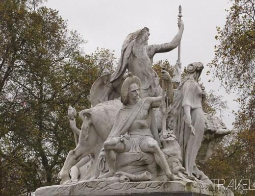Kensington Gardens - Statue