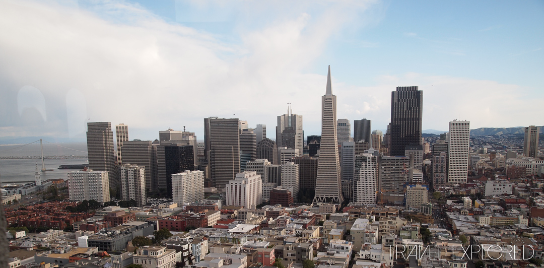 San Francisco - Coit Tower City View