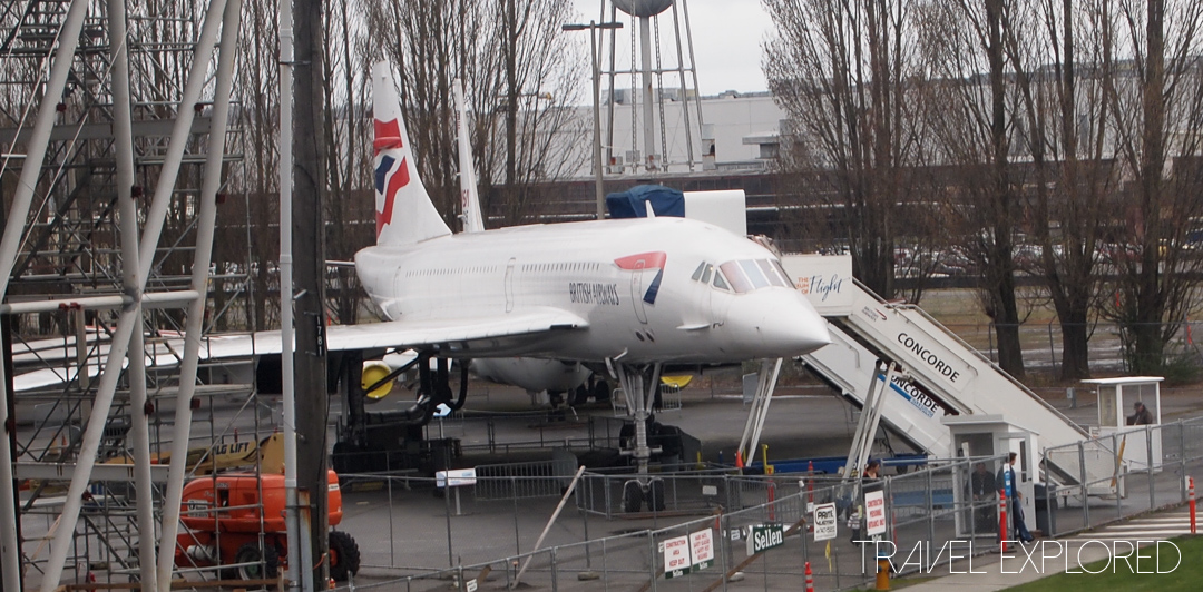 Seattle - British Airways Concorde