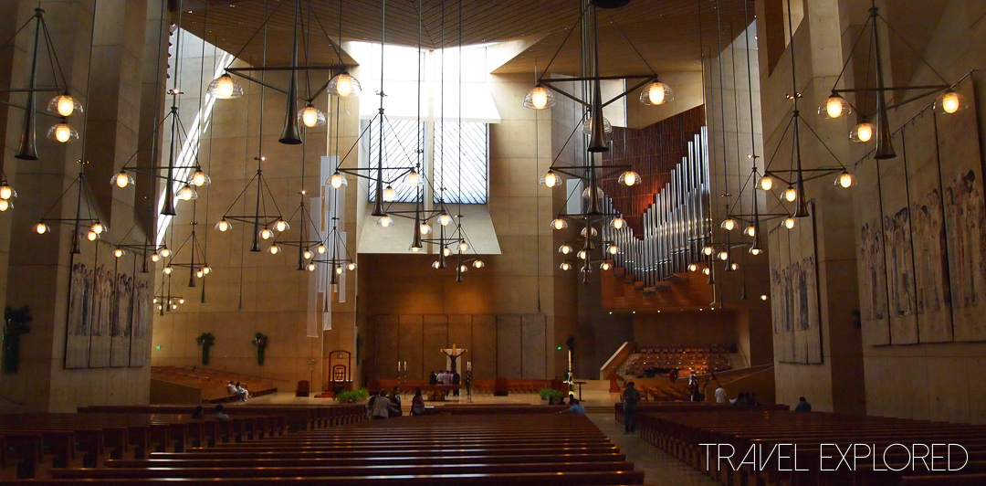 Los Angeles - Cathedral Of Our Lady Of The Angels Interior