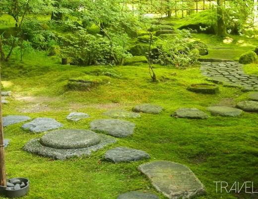 Portland - Japanese Garden Stepping Stones
