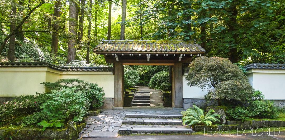 Portland - Japanese Garden Entrance