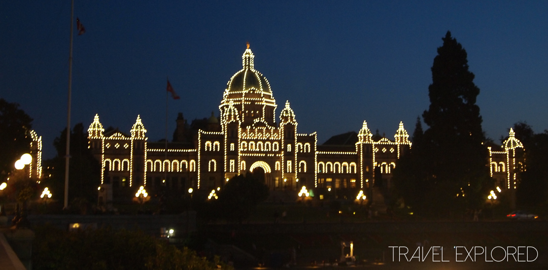 Victoria - Legislative Building by Night