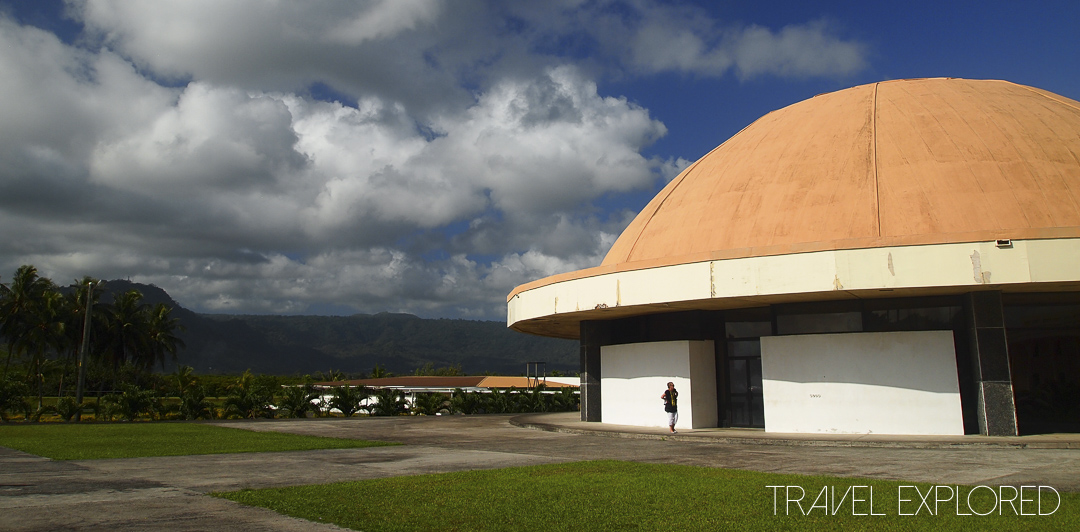 Apia Parliament Building