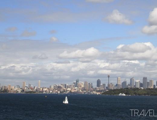 Sydney City Skyline from The Heads