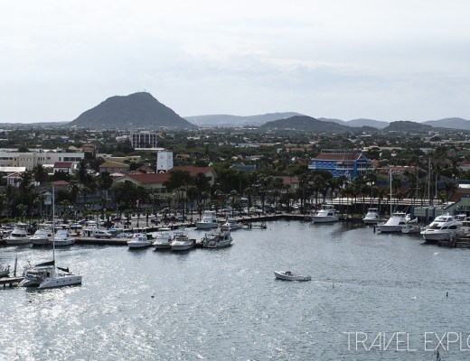 Oranjestad - Aruba - Harbour & City