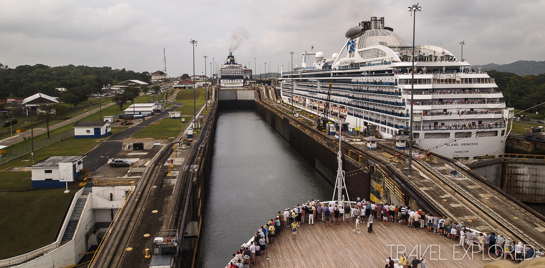 Panama Canal - Gatun Locks Westbound