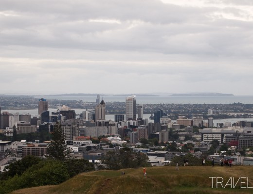 Auckland - Mount Eden Skyline View