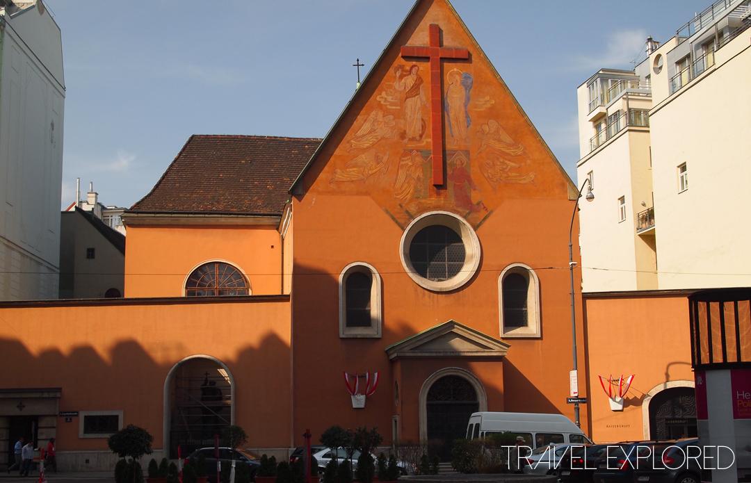 Vienna- Capuchin Church