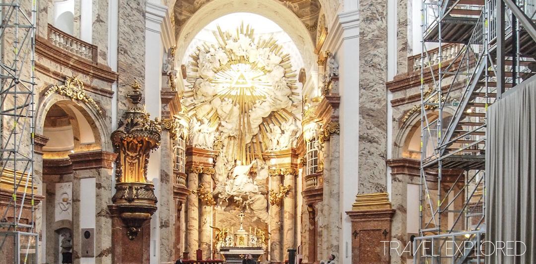 Vienna - Karls Kirche Altar