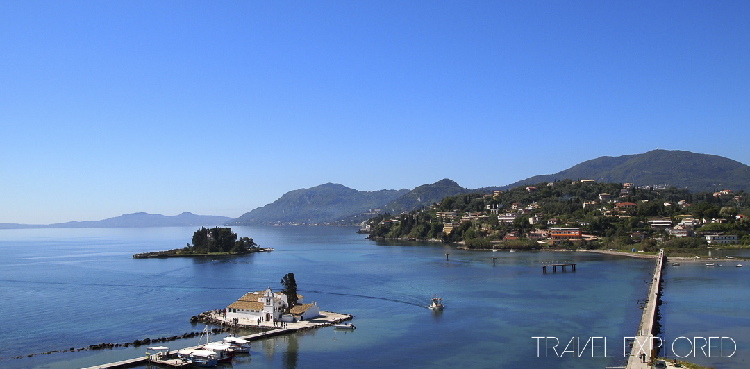 Corfu - View from Kanoni Peninsula