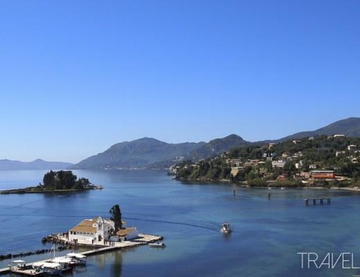 Corfu - View from Kanoni Peninsula