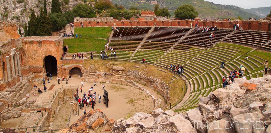 Catania - Roman Greco Theatre