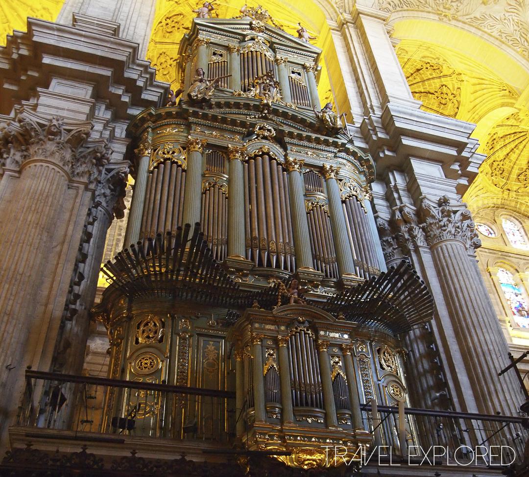 Malaga - 18th Century Organ in Cathedral
