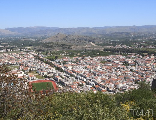 Nafplio - View from Palamidi Castle