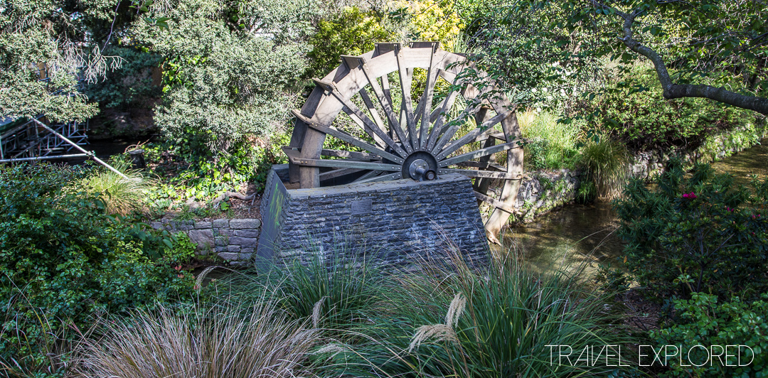 Christchurch - Waterwheel