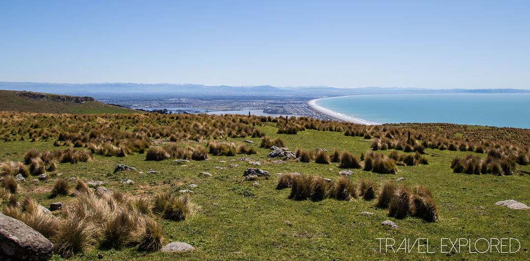Godley Head view over Christchurch Beach