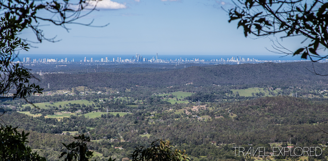 Tamborine Mountain - Coastal Views from Palm Grove Section