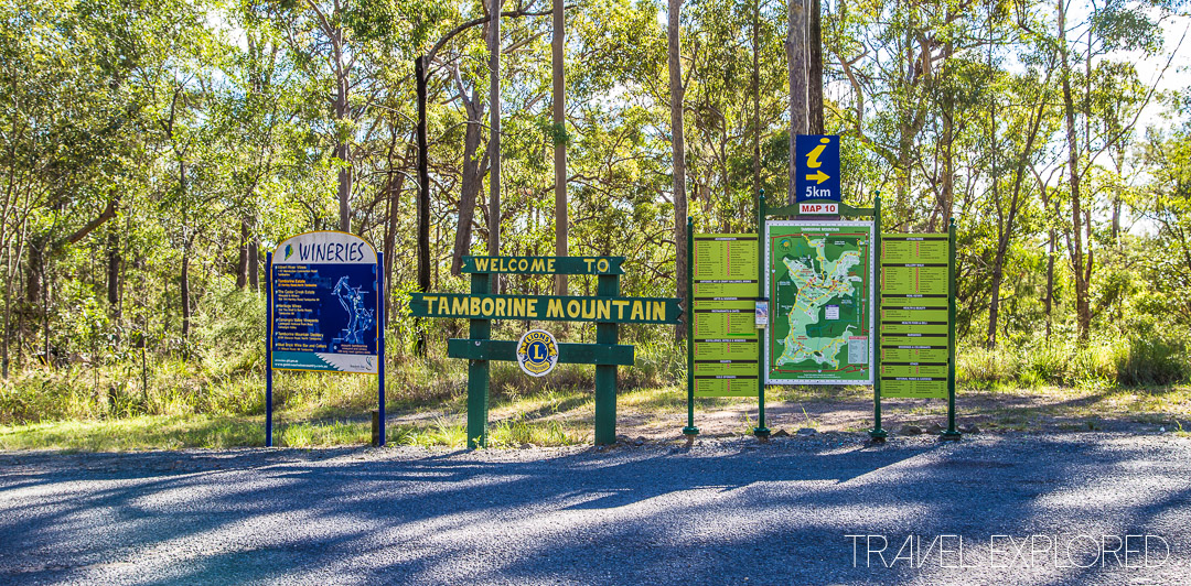 Tamborine Mountain - Welcome