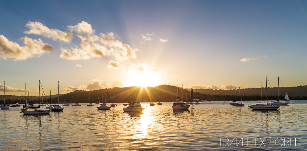 The Sunset at Gosford