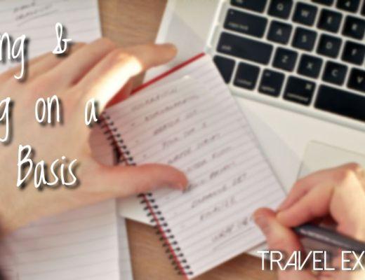 Writing & Sharing On A Daily Basis