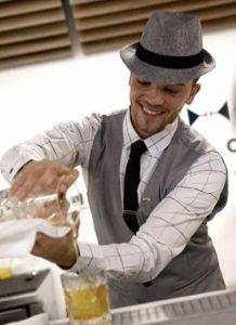 Andrej Malic bartender