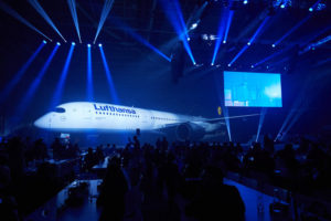 Lufthansa rolls out the A350, January 2017