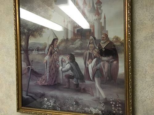 """""""My lady, I beseech you, henceforth we shall no longer lay our heads at Excalibur."""""""