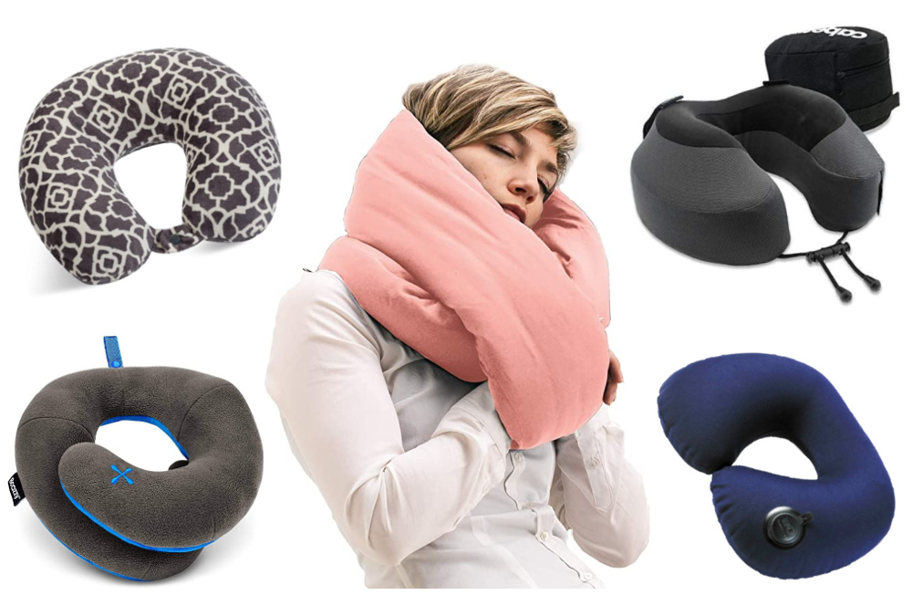 best travel pillow supports neck and