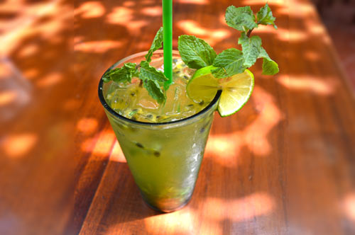 Acerola Passion Fruit Mojito Cool Tropical Drink Gia