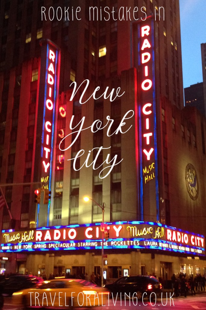 Rookie mistakes in New York City - Travel for a Living