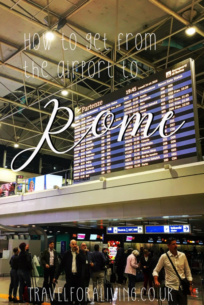 Best way to get from the airport into Rome - Travel for a Living