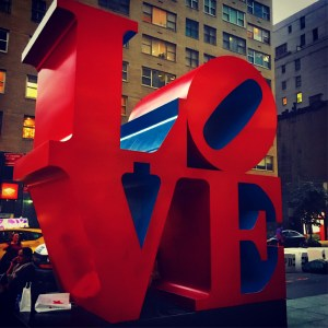 Love Statue New York