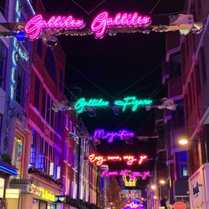 Christmas Lights in London - Travel for a Living