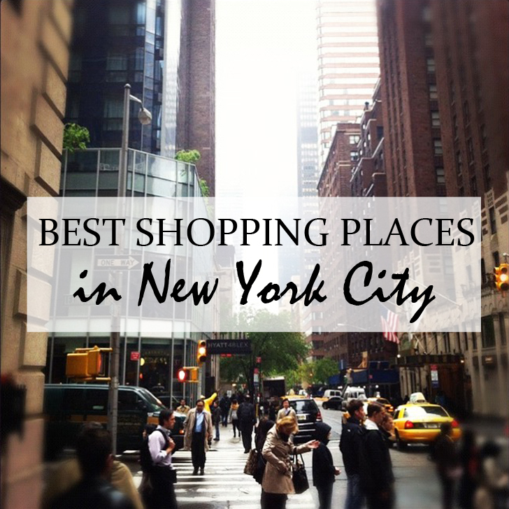 Where to find bargains and the best shopping places in New York - Travel for a Living