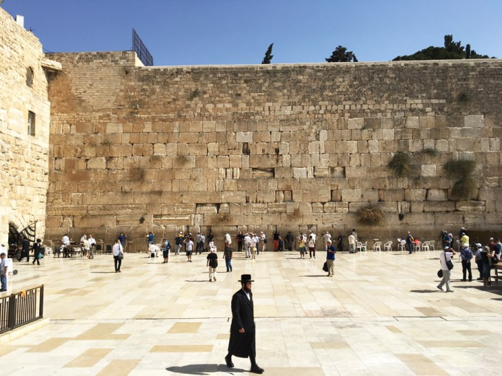Visiting the Western Wall in Jerusalem - Travel for a Living