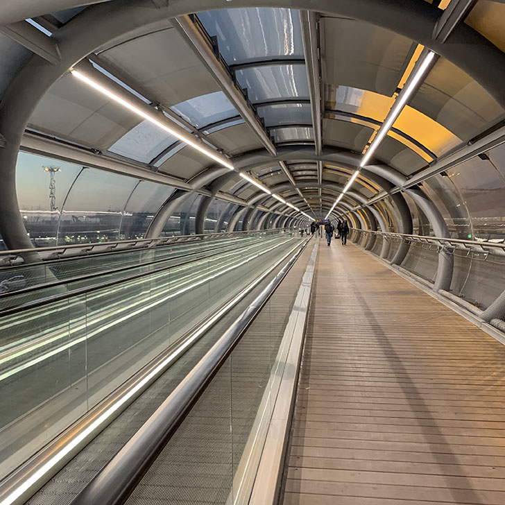 Stranded at Paris Orly Airport - Travel for a Living