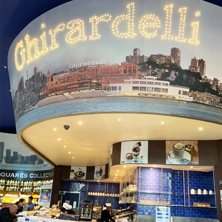 Ghirardelli - Our trip to San Francisco - Travel for a Living