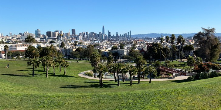 View over San Francisco - Our Trip to San Francisco Part Two - Travel for a Living