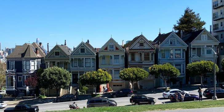 Painted Ladies - What to do in San Francisco - Travel for a Living