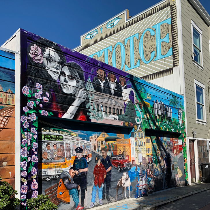 Exploring Street Art in San Francisco - Travel for a Living