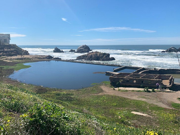 Sutro Baths Ruins - Our Trip to San Francisco - Travel for a Living